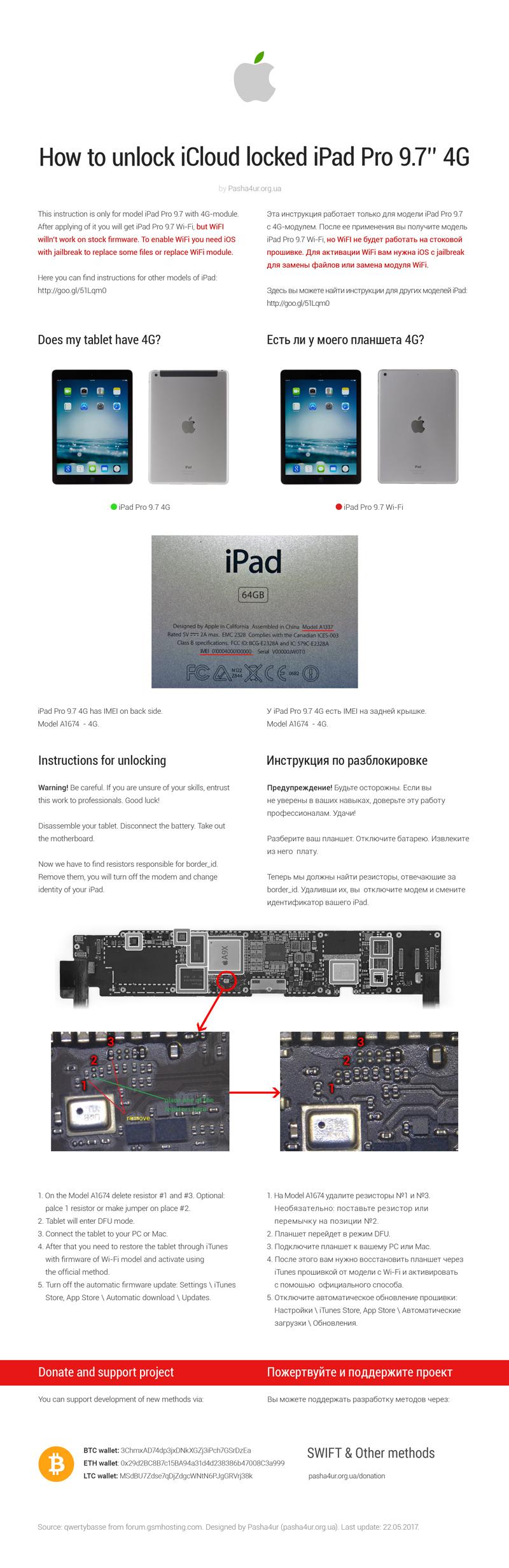 Bypass iCloud on Apple iPad mini 3 with Retina Cellular