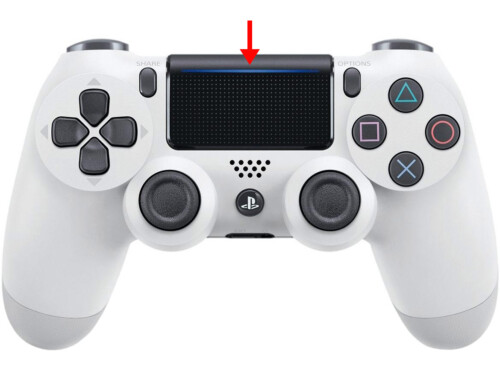 How to turn off the backlight of the Sony dualshock 4 gamepad